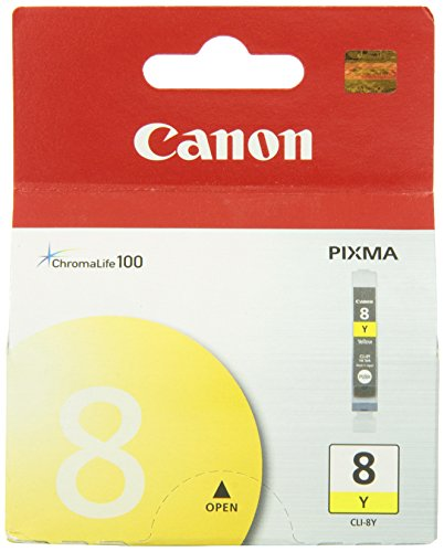 Inks Yellow Ink Tank - Canon CLI-8Y Ink Tank-Yellow