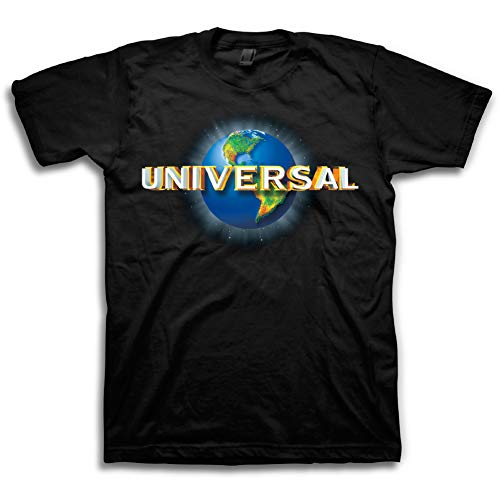 Universal Studios Halloween - Universal Studio Mens Classic Shirt Movie Tee - Vintage Movie T-Shirt (Black, Large)