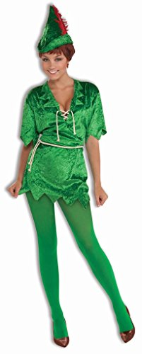 Faerynicethings Adult Peter Pan Female Costume - Neverland Lost Boys - 2 Sizes