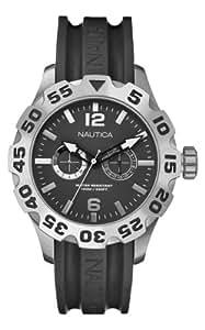 Nautica A16600G - Reloj de cuarzo para hombres, color negro