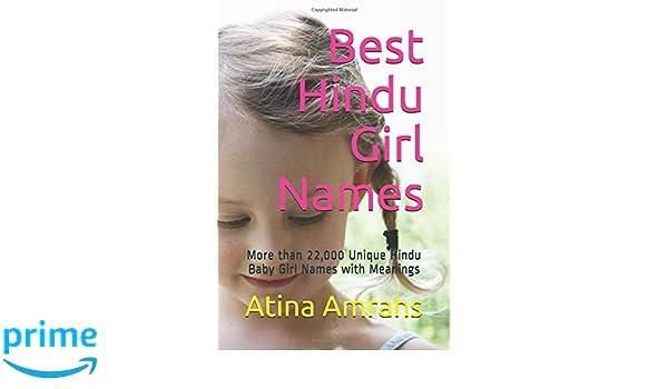 Amazon Com Best Hindu Girl Names More Than 22 000 Unique Hindu