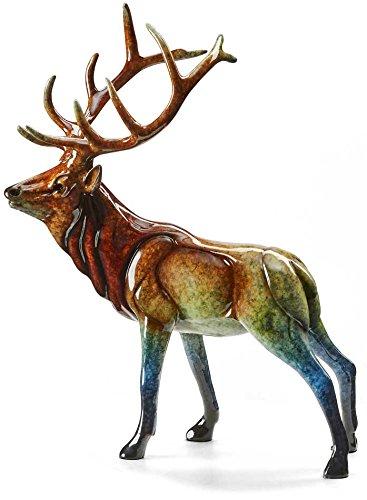 Aristocracy - Elk - Small Small Imago Sculpture by Stephen Herrero ()