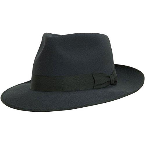 - Akubra Stylemaster Hat - Carbon Grey - 61