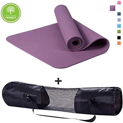 Polly House Eco-Friendly 100% TPE High Density Exercise Yoga