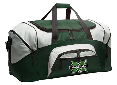 Large Marshall Duffle Bag Marshall University Gym Bag Large by Broad Bay
