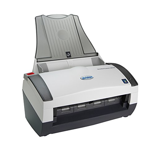 Avision AW210 Color Simplex 34ppm CCD Sheetfed Scanner 8.5″ x 14″ Best Document and Paper Handling