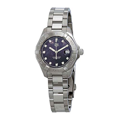 Tag Heuer Aquaracer Automatic Black Mother of Pearl Diamond Dial Ladies Watch WBD2312.BA0740