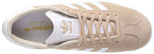 Ftwr Linen Ftwr Linen Ginnastica Pearl Donna Gazelle Ash S18 adidas Grigio Ash Pearl White da W S18 Scarpe White n7vIIUqa