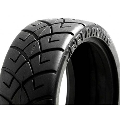 HPI Racing 4790 X Pattern Radial Tire D Compound, (Nitro Pattern)