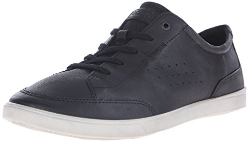 ECCO Men's Collin Classic Tie Fashion Sneaker, Black, 42 EU/8-8.5 M US