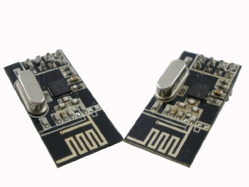 Consumer Electronic Products 2pcs Leatest 2.4Ghz nRF24L01+ RF Transceiver Module ISM Supply Store