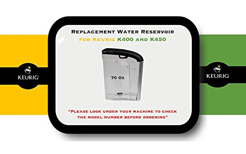 Replacement 2.0 Lid (Replacement Water Reservoir for Keurig 2.0 K400 and K450 - 70 Oz.)