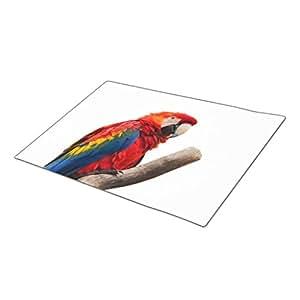 AbbyDay Monogrammed Door Mat Exotic Parrot Beak Entry Mats One size