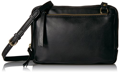 The Fix Leah Triple Zipper Small Crossbody Bag