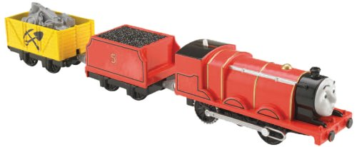 Fisher-Price Thomas & Friends TrackMaster, Motorized Scared James Engine (Tale of The Brave)