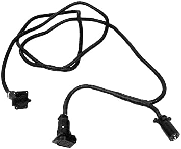 Torklift W6524 7-way Wiring Pigtail for Camper and Trailer