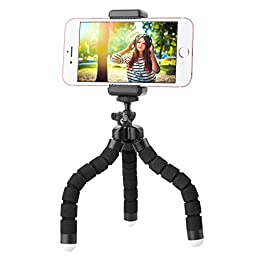 FLFLK Flexible Octopus Phone Tripod iphone Tripod Stand Holder with Remote For iphone Samsung Smart Phone Digital Camera