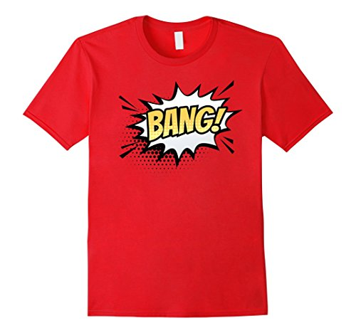 Mens BANG Matching Best Friend Halloween Costume T-Shirt Small (Matching Best Friend Halloween Costumes)