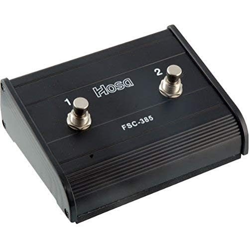 Hosa FSC-385 Footswitch, Guitar-style, Dual-latching