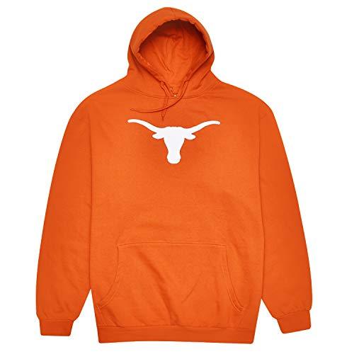 (Texas Longhorn Mens Pull Over Logo Hoodie Orange 3X)
