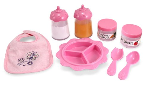 Melissa & Doug Mine to Love Time to Eat Doll Accessories Feeding Set (8 - Orange Ca City Mall The