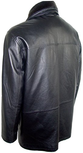 Johnny 2001 Big Man Leather Jacket Business Clothing Coat Tall and All Size by Johnnyblue (Image #5)