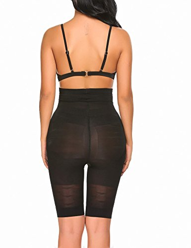 428b2cbf1914d Bulges High Waist Shapewear Shorts for Women Tummy Control Thigh Slimmer Fat  Burning Body Shaper(