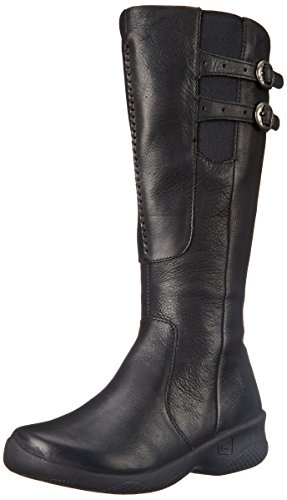 Keen Women's Bern Baby Wide Calf Boot - Black - 10.5 B(M) US