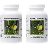 Supreme Nutrition Morinda Supreme Dual Pack | 130 Whole Noni Fruit 730 mg Capsules | 2190 mg per Serving