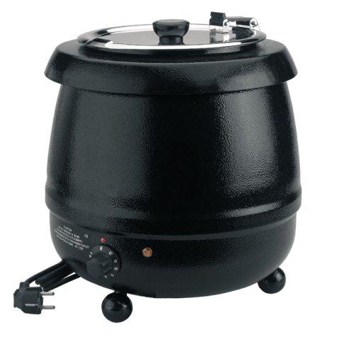 Lacor 69037 - Olla calentador sopa electrico, 10 L