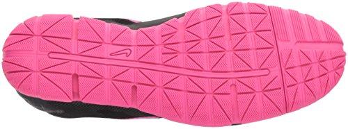 Nike Dames Gratis Bionische Zwart Roze Atletische Hardloopschoenen