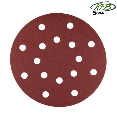 Milwaukee Sanding Disc (Milwaukee 48-80-4345 6-Inch 240-Grit Sandpaper Hook and Loop, 5-Pack)