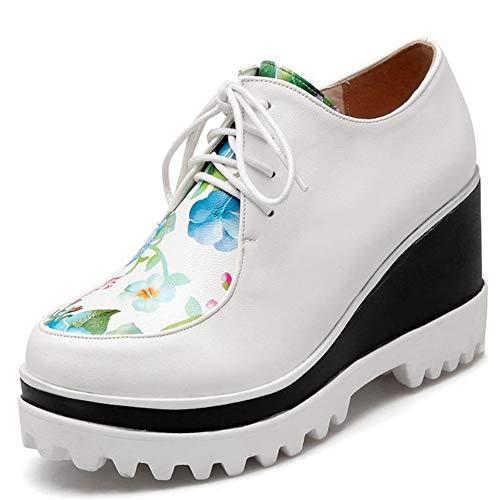 Femme Chaussures Decostain De White À Ville 20683de p Lacets Pour 7gwg8H
