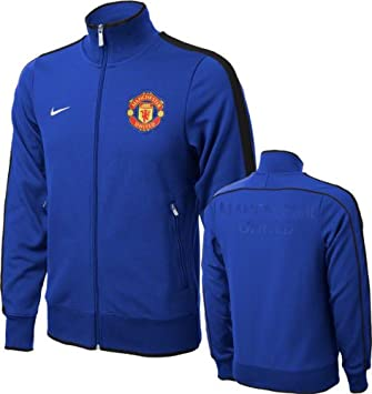 6517fe0eb8f Nike Manchester United N98 Authentic Men s Football Track Jacket ...