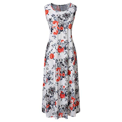 Pencil Skirt Pinstriped - Women Summer Dresses Casual Striped Half Sleeve A Line Short Dress Summer Round Neck Sleeveless Dress Straight Button Orange