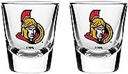 NHL Ottawa Senators Shot Glass, 2-Pack
