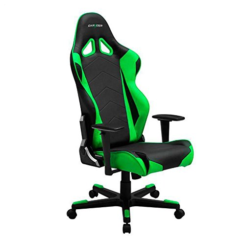 41VOlrAe2tL - DXRacer-OHRE0NE-Black-Green-Racing-Series-Gaming-Chair