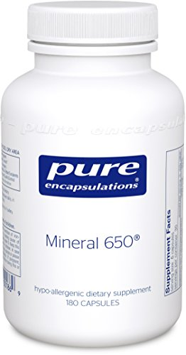 Pure Encapsulations Hypoallergenic Combination Chelated Minerals