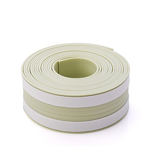 ECYC Waterproof Adhesive Tape Kitchen Sink Joint Crevice Sticker Green Mildew Proof Caulk Sealer,1.2