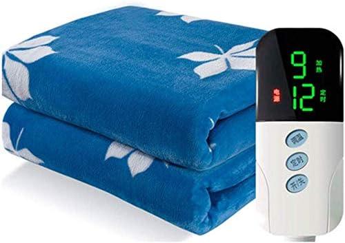 Manta eléctrica con calefacción individual, niveles de calefacción 9 franela agradable a la piel transpirable, deshumidificación manta térmica, apagado automático mejores regalos durante toda la noche: Amazon.es: Hogar