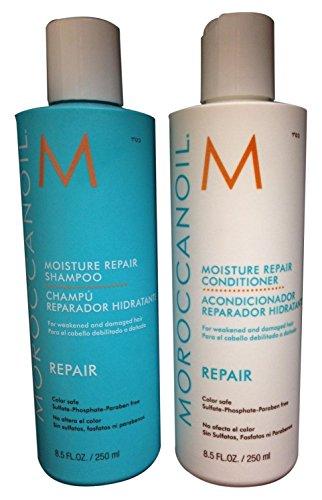Moroccanoil Moisture Repair Shampoo + Conditioner, je 250ml