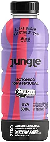 Isotônico Jungle Orgânico Uva 500ml