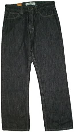 Lee Regular Fit At Waist Bootcut Leg Mens Black Denim Jeans New