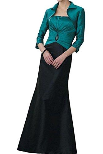 Schwarz Etuikleider mit Langes Brautmutterkleider Abendkleider Marie Elegant Braut Figurbetont La Gruen Damen Bolero xwnq07ZIR