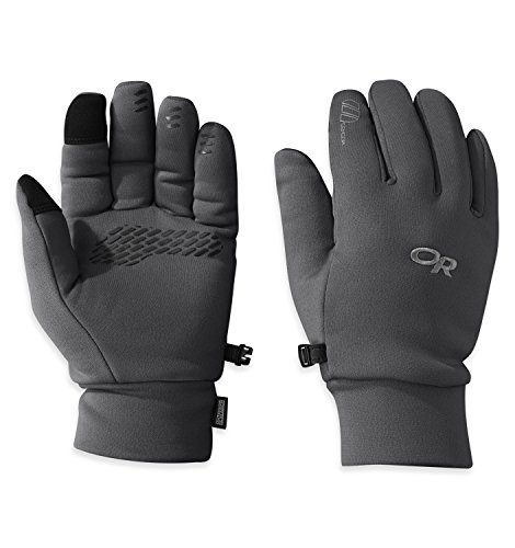 Outdoor Research Men's PL 400 Sensor Gloves, Charcoal Heather, Small by Outdoor Research