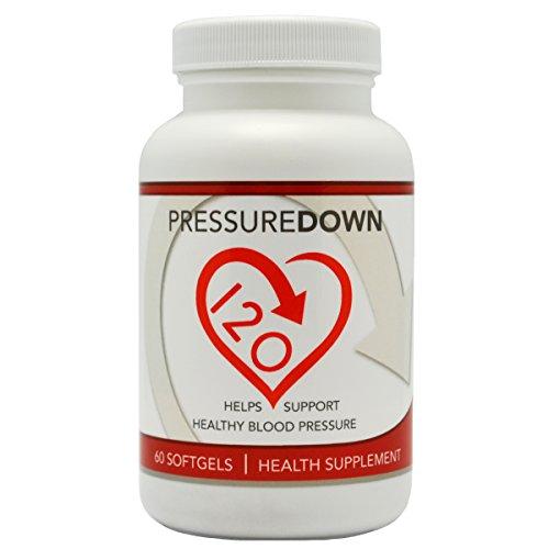 Blood Pressure Supplement PressureDown120 Effective product image