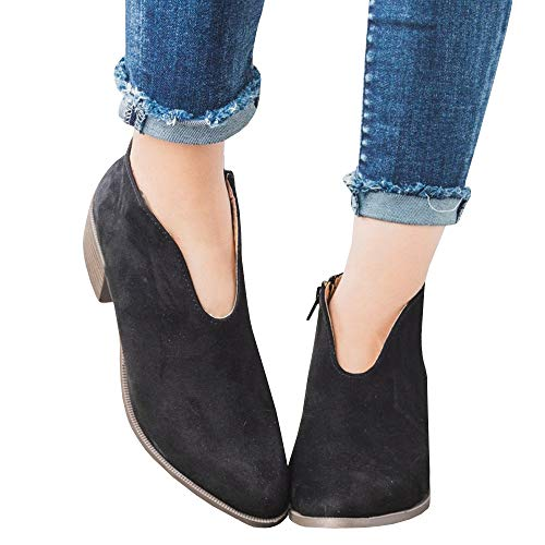 (Womens Open Toe Ankle Buckle Cut Out Low Heel Strap Bootie Boots)
