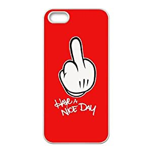 iPhone 5 5s Cell Phone Case White Mickey Mouse hns
