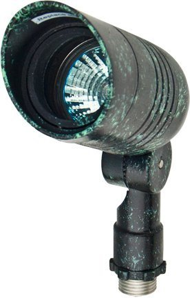 Dabmar LV222-VG Small Spot Light, 20W 12V Mr16, Verde Green Finish by Dabmar