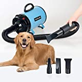 CHAOLUN High Velocity Pet Hair Dryer - Blower Grooming Dryer with...